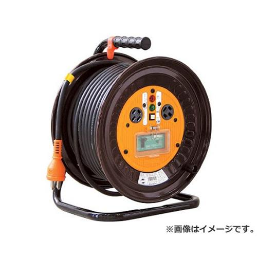 日動 電工ドラム 三相200Vドラム アース漏電しゃ断器付 30m NDEB33020A [r20][s9-920]