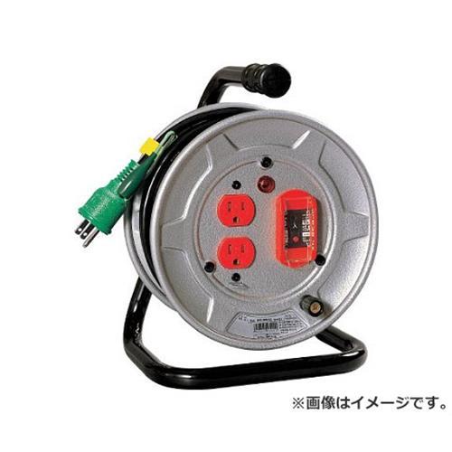 日動 電工ドラム 標準型100Vドラム アース過負荷漏電しゃ断器付 10m NSEK12 [r20][s9-910]