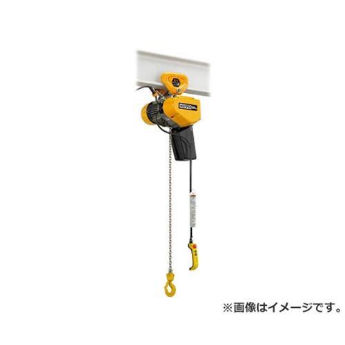 キトー EQ形電気チェーンブロックプレントロリ結合形 980kg(IS)×4m EQSP009IS [r21][s9-940]