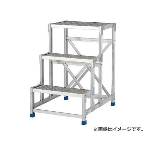 予約販売 アルインコ 作業台(天板縞板タイプ)2段 CSBC276S [r20][s9-920], クリハラグン 9cf09684