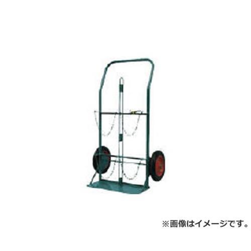 KS ボンベ運搬車 酸素7000L容器、アセチレン7.0kg容器用 KSCOMPACT