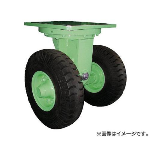 佐野車輌 超重量級キャスター ダブル自在車 荷重1500kgタイプ 2841 [r22]