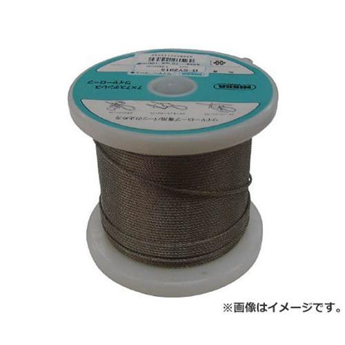 ニッサチェイン ステンレスワイヤーロープ 2.5mm×100m TSY25100 [r20][s9-910]