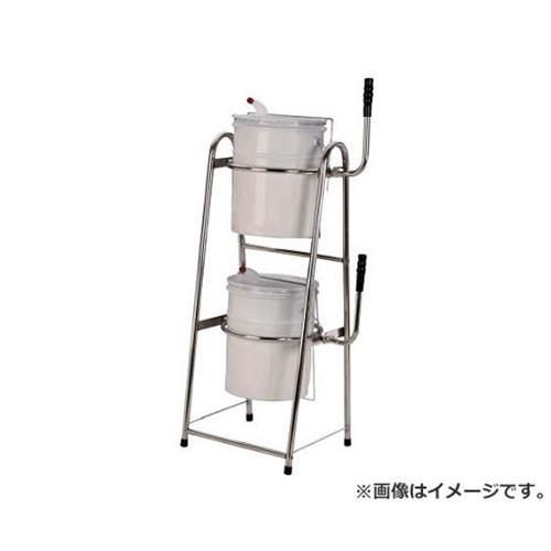 MECHANICS ステンレスペール缶スタンド 二段式 PK20WS [r20][s9-920]