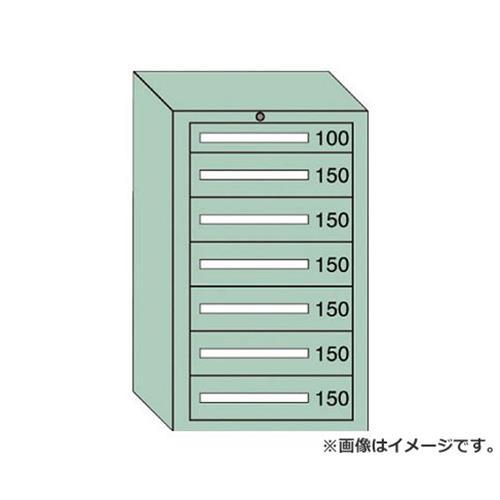 OS 軽量キャビネット5型 最大積載量500kg 引出し1×6段 51003 [r20][s9-910]