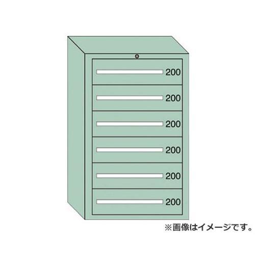 OS 重量キャビネットDX型 最大積載量1500kg 引出し6段 DX1203 [r20][s9-910]