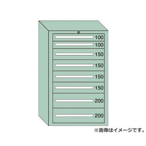 OS 重量キャビネットDX型 最大積載量1500kg 引出し2×4×2段 DX1205 [r22][s9-839]