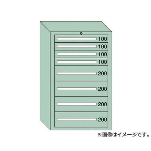 OS 重量キャビネットDX型 最大積載量1500kg 引出し4×4段 DX1209 [r20][s9-910]