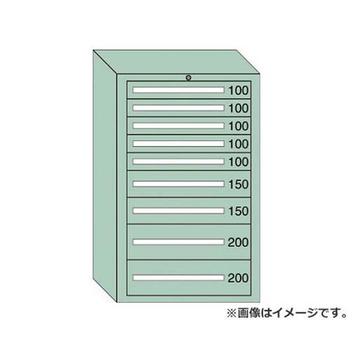 OS 重量キャビネットDX型 最大積載量1500kg 引出し5×2×2段 DX1211 [r21][s9-940]