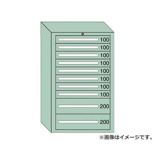 OS 重量キャビネットDX型 最大積載量1500kg 引出し8×2段 DX1215 [r20][s9-910]