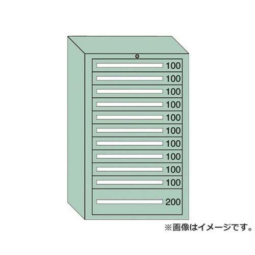 OS 重量キャビネットDX型 最大積載量1500kg 引出し10×1段 DX1217 [r20][s9-910]