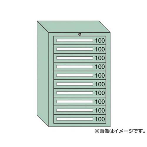 OS 中量キャビネット7型 最大積載量1000kg 引出し10段 71001 [r20][s9-910]