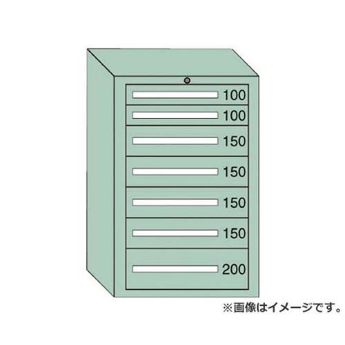 OS 中量キャビネット7型 最大積載量1000kg 引出し2×4×1段 71006 [r20][s9-910]