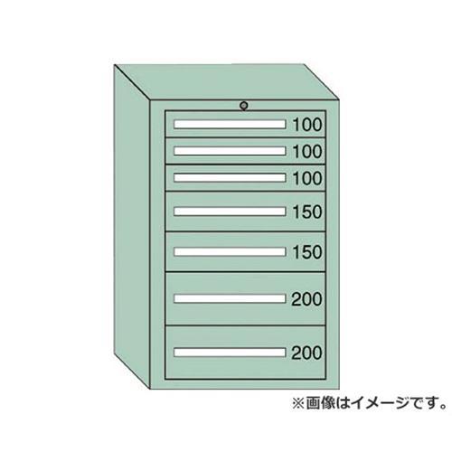 OS 中量キャビネット7型 最大積載量1000kg 引出し3×2×2段 71007 [r20][s9-910]