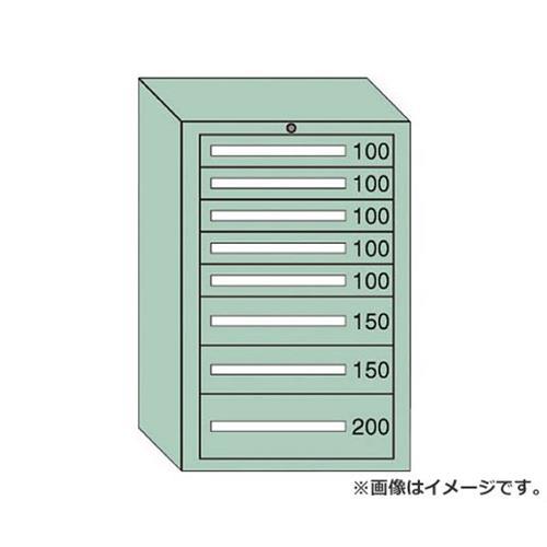 OS ミドルキャビネットMD型 最大積載量1000kg 引出し5×2×1段 MD1010 [r21][s9-940]
