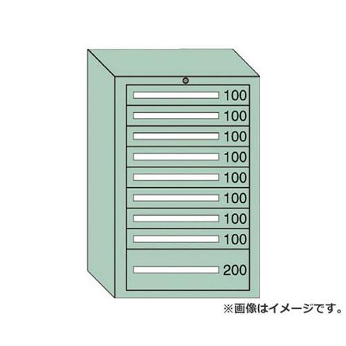 OS ミドルキャビネットMD型 最大積載量1000kg 引出し8×1段 MD1013 [r20][s9-910]
