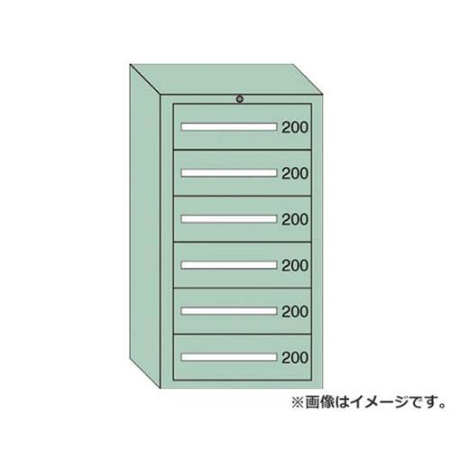 OS 中量キャビネット7型 最大積載量1200kg 引出し6段 71203 [r20][s9-910]