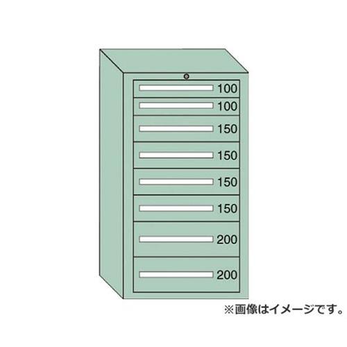 OS 中量キャビネット7型 最大積載量1200kg 引出し2×4×2段 71205 [r22][s9-839]