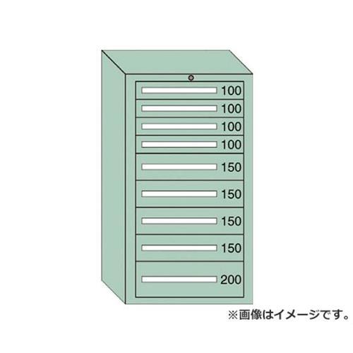 OS ミドルキャビネットMD型 最大積載量1200kg 引出し4×4×1段 MD1210 [r22][s9-839]