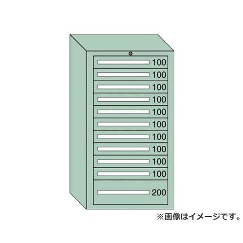 OS ミドルキャビネットMD型 最大積載量1200kg 引出し10×1段 MD1217 [r21][s9-940]