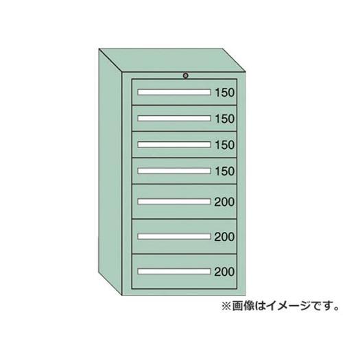 OS ミドルキャビネットMD型 最大積載量1200kg 引出し4×3段 MD1218 [r21][s9-940]