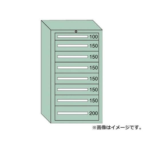 OS 中量キャビネット7型 最大積載量1200kg 引出し1×6×1段 71219 [r21][s9-940]