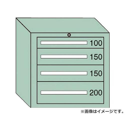 OS ミドルキャビネットMD型 最大積載量600kg 引出し1×2×1段 MD604 [r20][s9-910]