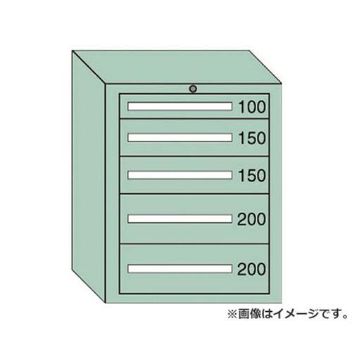 OS 中量キャビネット7型 最大積載量800kg 引出し1×2×2段 7803 [r21][s9-940]