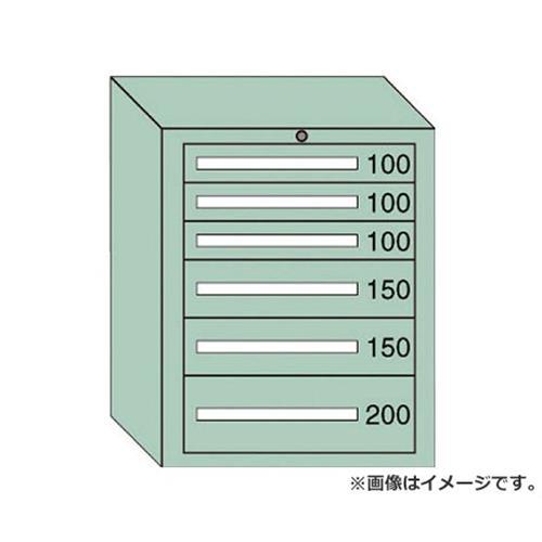 OS 中量キャビネット7型 最大積載量800kg 引出し3×2×1段 7806 [r20][s9-910]