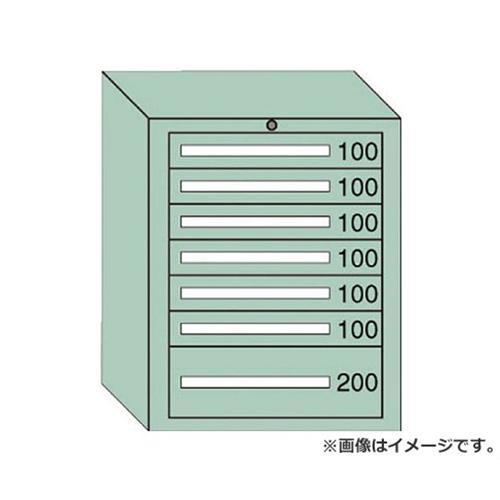 OS 中量キャビネット7型 最大積載量800kg 引出し6×1段 7809 [r20][s9-910]