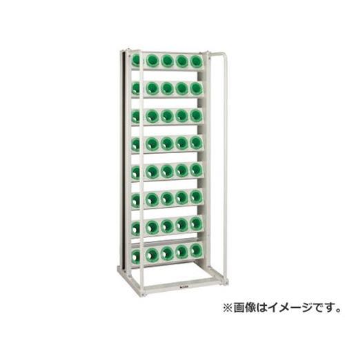 TRUSCO ツーリングラック BT・NT50兼用 48個収納 ロック付 YG色 VTL68YG [r22]