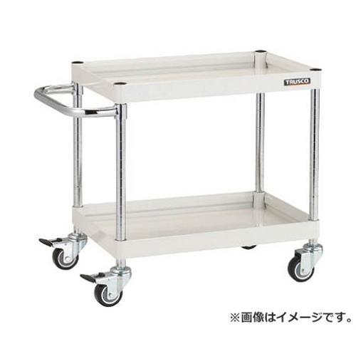 TRUSCO ファルコンワゴン600X400 ウレタン車輪 YG色 FAW662UYG [r20][s9-910]