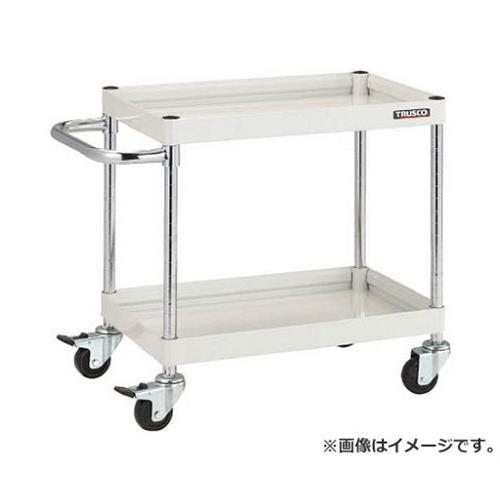 TRUSCO ファルコンワゴン750X500 ゴム車輪 YG色 FAW672YG [r20][s9-831]