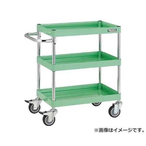 TRUSCO ファルコンワゴン750X500 ウレタン車輪 YG色 FAW773UYG [r20][s9-831]