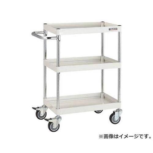 TRUSCO ファルコンワゴン750X500 ウレタン車輪 W色 FAW973UW [r20][s9-831]