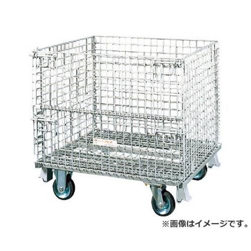 サンキン メッシュパレット 150mmキャスター付 SC412S [r21][s9-930]