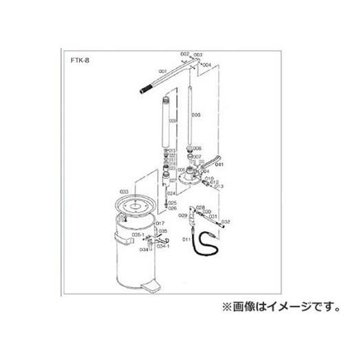 TRUSCO FTK8用 タンク FTK017 [r20][s9-910]