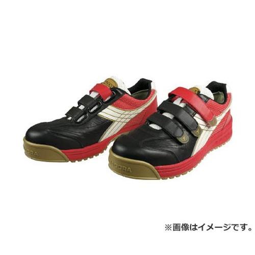 ディアドラ DIADORA 安全作業靴 ロビン 黒/白/赤 24.0cm RB213240 [r20][s9-910]