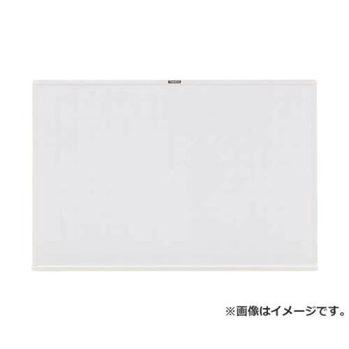 TRUSCO スチール製ホワイトボード 白暗線 白 600X900 WGH122SA (W) [r20][s9-830]