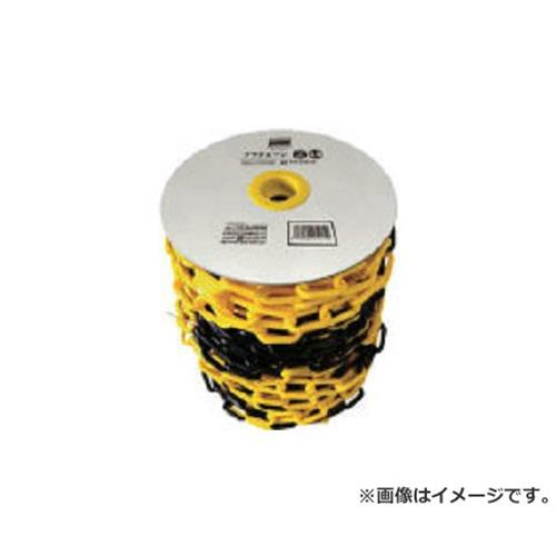 TRUSCO プラチェーン 6MMX50M 黄/黒 TPC6YB50 [r20][s9-910]