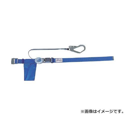 TRUSCO 巻取り式2WAY安全帯 1本つり専用 スチール製バックル 青 TSB59B [r20][s9-900]