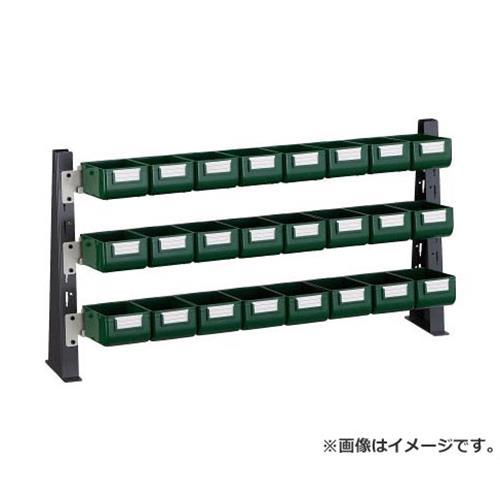 TRUSCO UPR型ライトビンラック卓上用 K-10GX24個 UPRML1803G [r20][s9-831]