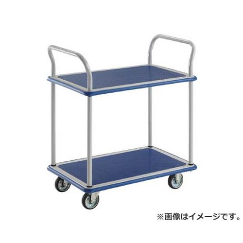 TRUSCO ドンキーカート 2段式両袖740×480 102N [r20][s9-910]