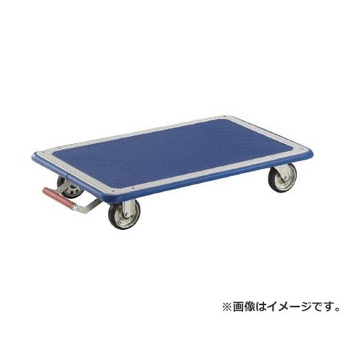 TRUSCO ドンキーカート 平台車型740×480 ピン式固定車S付 115NKB [r20][s9-831]