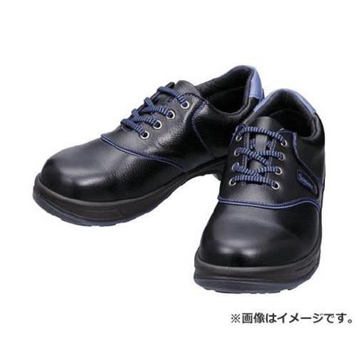 シモン 安全靴 短靴 SL11-BL黒/ブルー 23.5cm SL11BL23.5 [r20][s9-910]