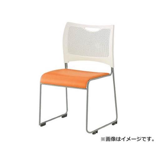 TRUSCO ミーティングチェア オレンジ TMCOR [r20][s9-830]