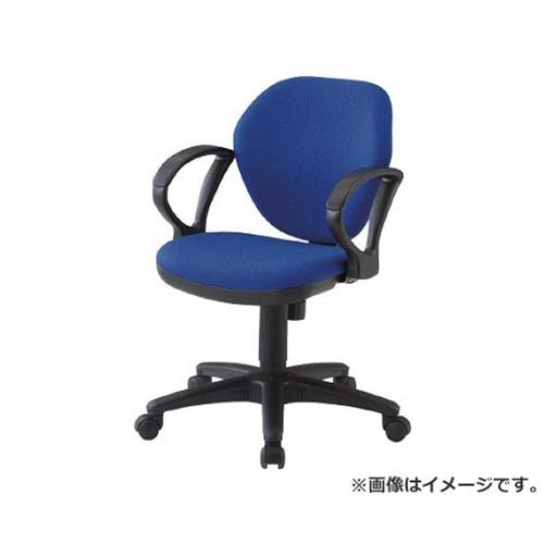 TRUSCO オフィスチェア 肘付 青 T10AB [r20][s9-910]