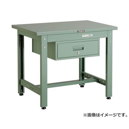TRUSCO GWS型作業台 900X600XH740 1段引出付 GWS0960F1 [r20][s9-920]