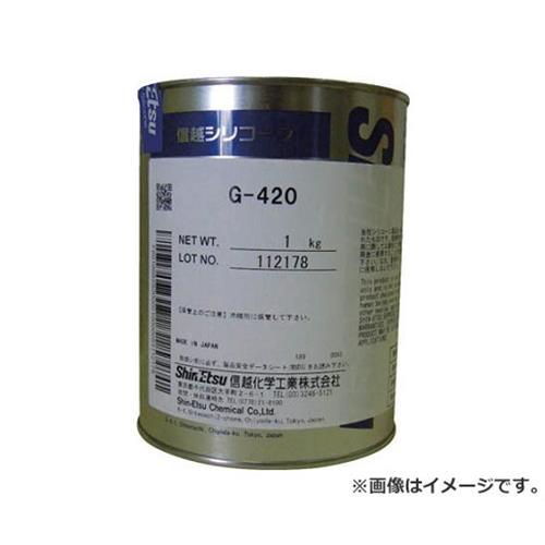 信越 高温潤滑用シリコーングリース 1kg G4201 [r20][s9-910]