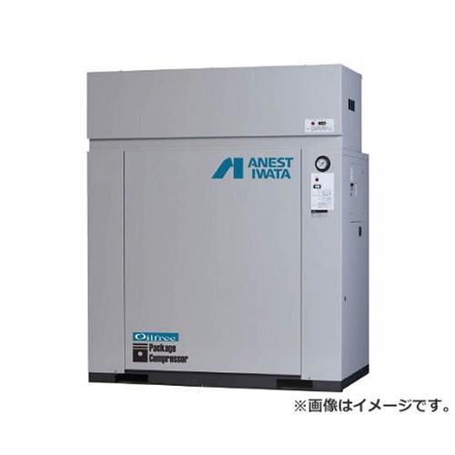 アネスト岩田 オイルフリーコンプレッサ 0.75KW 単相100V 60Hz CFP07C8.5DC6 [r20][s9-910]